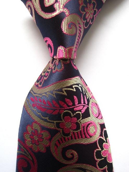 New Classic Floral Striped Paisley Plaid 62 Color JACQUARD WOVEN 100% Silk Men's Business Wedding Party Tie Necktie