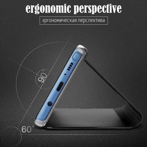 Smart View Flip Case For Samsung Galaxy S8 S9 Plus Flip Stand Leather Case For Samsung Galaxy Note 9 8 5 S7 S6 Edge Plus Cover