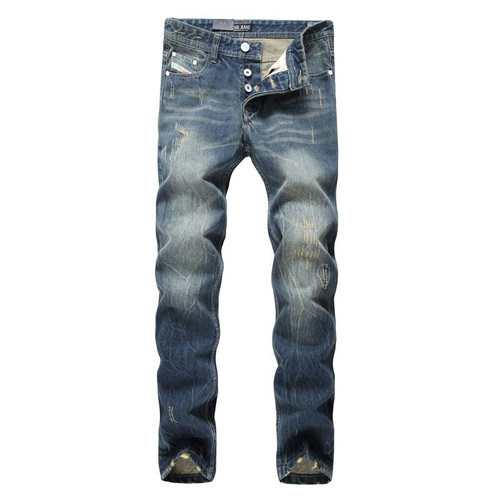 2018 Fashion Dsel Designer jeans men Famous Brand Ripped jeans Denim Cotton Jeans Men Casual Pants printed men jeans , 9003-A