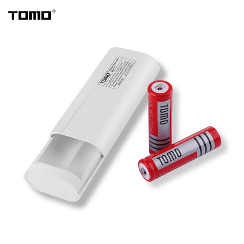 TOMO P2 DIY Smart Power Bank Case Box 18650 Battery USB Charger Dual Temperature Protection Overcharge Protection