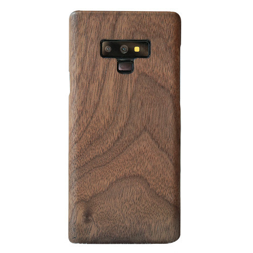 walnut Enony Wood Rosewood MAHOGANY Wooden Back Case Cover For Samsung Galaxy S8 S8+ Note 8 Note 9