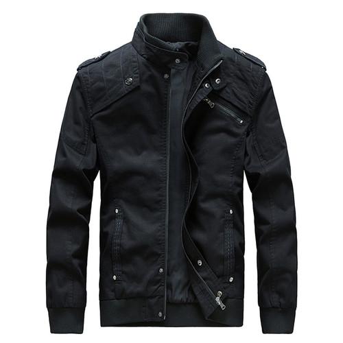Korean Slim Fit Leisure Jacket Men Short Bomber Long Sleeve Zipper Spring Men Jacket Fashion Jaqueta Masculino Outwear Men 40JK1