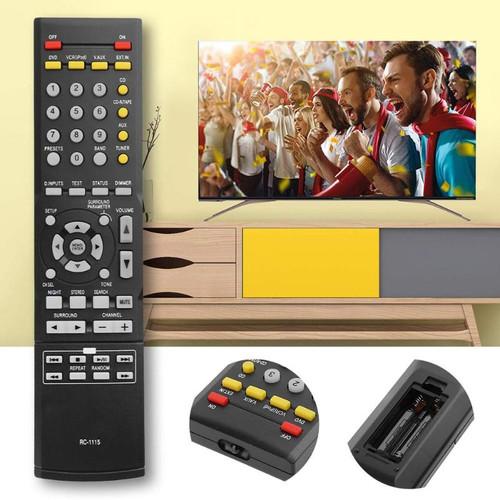 Remote Control Universal Plastic RC-1115 Remote Controller Replaced for Denon RC-1120 AVR-1312 AVR-1311 AVR-1612