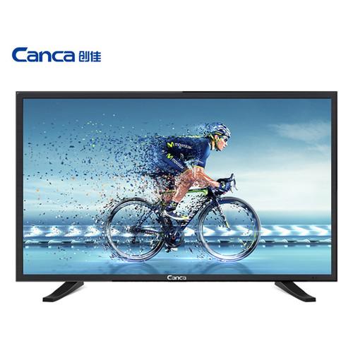 Free Shipping CANCA 32 inch multimedia HD LED LCD flat panel TV Display monitor Full HD HDMI/USB/AV/RF/VGA