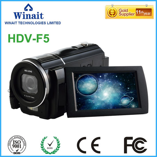 Super camera video professional max 24mp 5.0MP CMOS foto camera HDMI/TV output portable full hd 1080p digital video camcorder