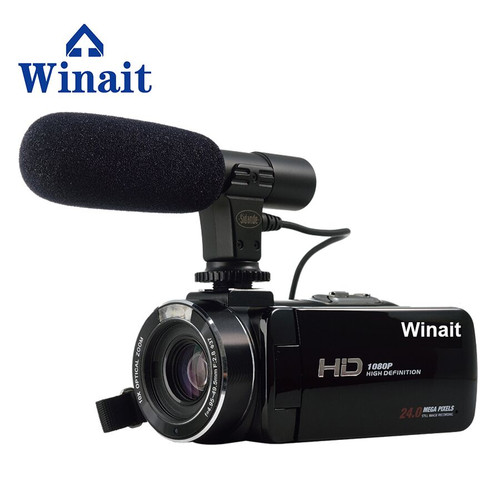 "Winait Hot Style Digital Video Camera WIFI Remote Control Portable DVR HD 1920*1080 3.0"" Touch Screen HDMI USB Hot Shoe Output"