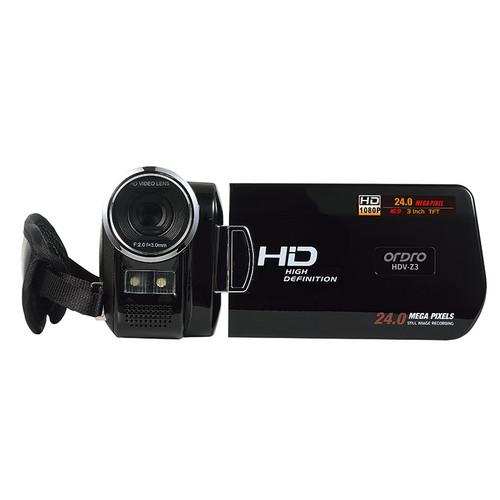 "ORDRO HDV-Z3 1080P  HD Digital Video Camera 24MP 4x Zoom 3.0"" HD Screen 5MP CMOS DV HDMI Output Free shipping"