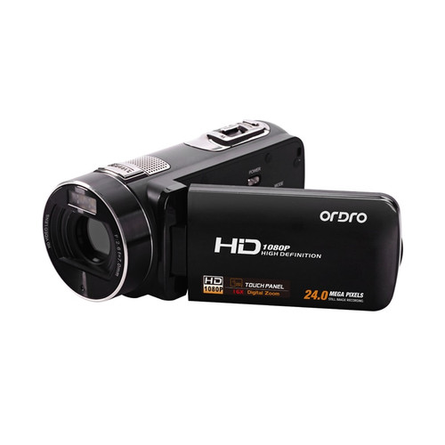 """ORDRO HDV-Z8 Digital  Video Camera 3.0"""" TFT LCD Touch Screen  Videocameras HD Camcorder Camera 24MP HDMI Out"""