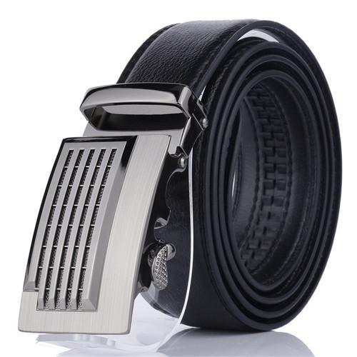 2018  Famous Brand Belt Men Genuine Luxury Leather Men's business Belts for Men,Strap Male Metal Automatic Buckle jaguar buckle