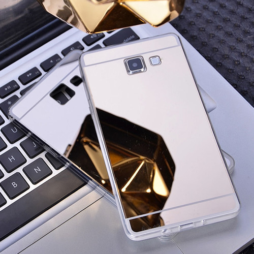 Gold Mirror Soft Back Shell Cover For Samsung Galaxy J1 J2 A3 A5 A7 J3 J5 J7 2015 2016 2017 Grand Prime J5 J7 Prime S7 S8 Cases