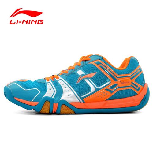 Li-Ning Men's Saga Light TD Badminton Shoes Training Breathable Anti-Slippery Light Sneakers LiNing Sport Shoes AYTM085