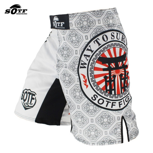 SOTF Boxing Training Fitness Muay Thai Pants boxing shorts muay thai boxing shorts muay thai short kickboxing mma short mma