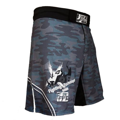 FFITE Men's Boxing Pants MMA Shorts Fight Grappling Short Polyester Kick Gel Boxing Muay Thai Pants Thai Boxing Shorts Mma