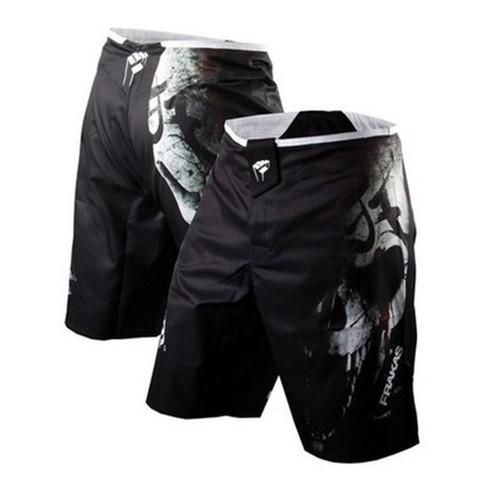 Men MMA Shorts Boxing Trunks Bad Man Fight Shorts Boxing Pants Jiu Jitsu Muay Thai Pants Thin Muay Thai Training Shorts