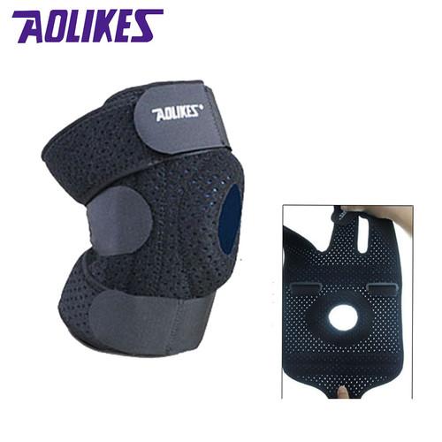 AOLIKES 1PCS Mountaineer Knee Pads Fitness Rodillera Support Sports Safety Kneepad Rodilleras Deportivas Protetor De Joelho