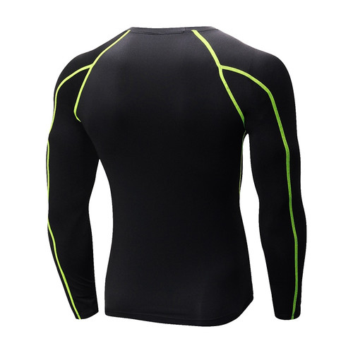 Yuerlian Dry Soccer Jerseys Compression Fitness Tights Gym Sportswear Basketball Men Shirt Bodybuilding Rashgard T-Shirt