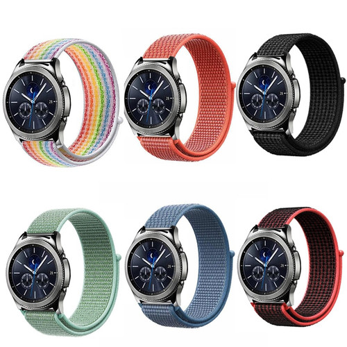 22mm 20mm Strap for Samsung Gear S3 s2 sport Frontier Classic galaxy watch 42mm 46mm Band huami amazfit bip strap huawei gt 2