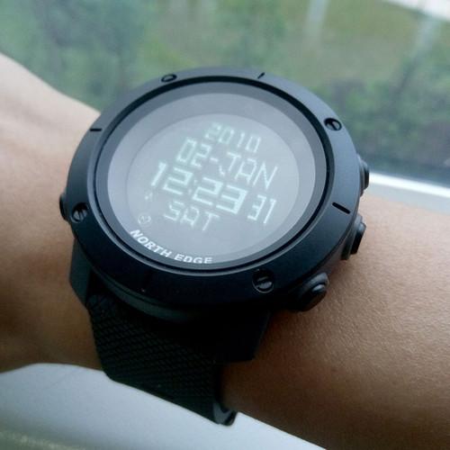 NorthEdge smart watch Men sport watch luxury Digital wristwatch male Waterproof TANK world time men's watch hybrid smart watch