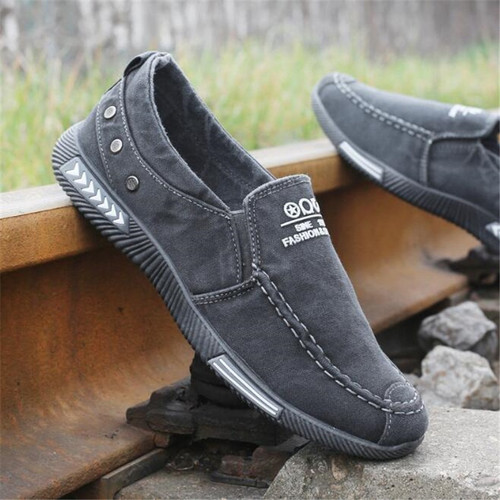 Canvas Men Shoes Denim Lace-Up Men Casual Shoes New 2018 Plimsolls Breathable Male Footwear Spring Autumn