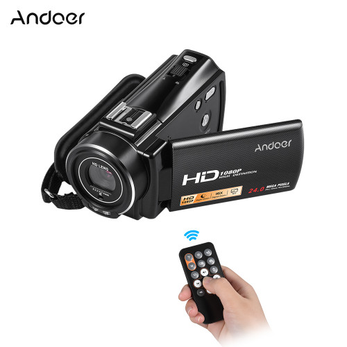 Andoer HDV-V7 PLUS 1080P Full HD 24MP Portable Home Digital Video Camera Camcorder Remote Control Infrared Night Vision Recorder Andoer HDV-V7 PLUS 1080P Full HD 24MP Portable Home Digital Video Camera Camcorder Remote Control Infrared Night Vision Recorder