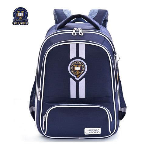 UNIVERSITY OF OXFORD CHILDREN KIDS Elementary orthopedic school bag shoulder backpack portfolio for boys grade 2-6