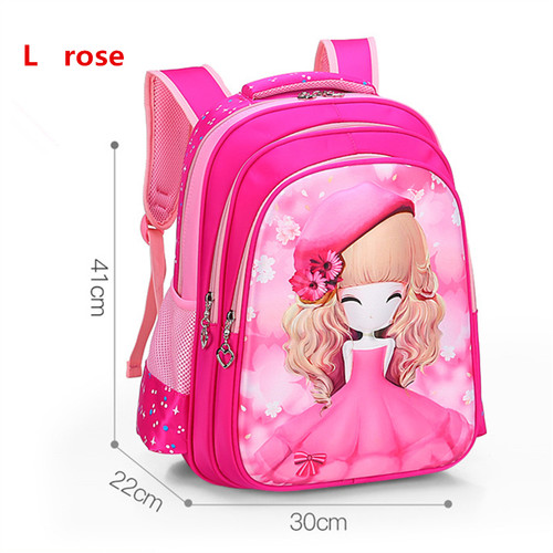 YK-Leik 2018 fashion cartoon printing children school bags for girls High quality waterproof schoolbags Cute child backpacks