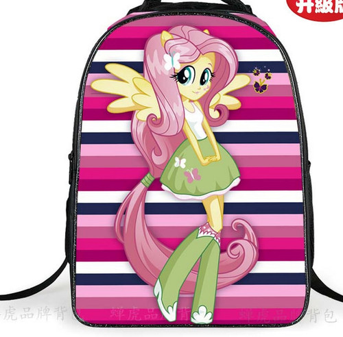 2018 Cute School Bags For Teenagers Girls Pony Horse Twilight Sparkle Backpack Kids SchoolBags Children Mochila