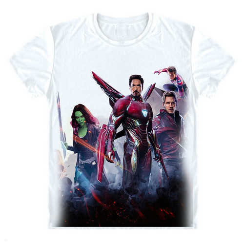 Marvel Avengers 3 Infinity War T Shirt Avenger Thanos iron man 3D T-shirt Costume Cosplay Superhero Fashion Streetwear Tee Shirt