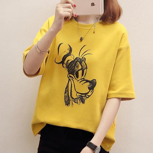 Casual tops female T-shirt plus size T-shirts for women harajuku women's shirt marvel tshirt befree t shirt Cartoon summer top