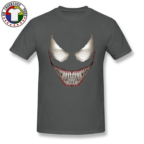 Hot Sale Venom Tee Shirt 3D Full Print Cool Marvel T Shirts Men Venom Face Superhero Tshirt Best Gift High Quality Sleeved