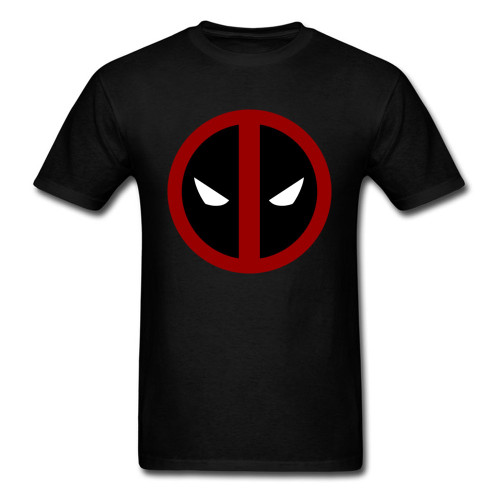 Classic Deadpool 2018 Funny Marvel T Shirt Simple Logo Printed Mens Own Hero T-shirt Summer Men Tops Tees Plus Size