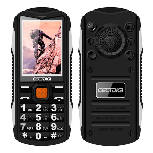 Antenna TV Mobile Phone Cectdigi TV200 Big Magic Voic Dual torch Flashlight Power Bank Outdoor Rugged Phone