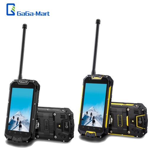 "Snopow M5 IP68 4G Mobile Phone UHF Walkie Talkie Waterproof Shockproof Dustproof 4.5"" Quad-core 2GB16GB Android 3300mAh NFC OTG"
