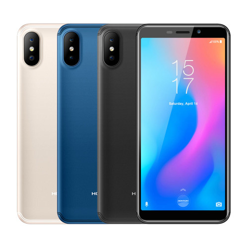 HOMTOM C2 5.5inch 2GB 16GB 3000mAh 18:9 Face ID 4G-LTE Mobile Cell Phone Android 8.1 13MP Dual Rear Cameras Smartphone OTA OTG