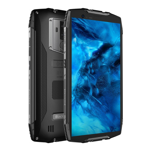 """Blackview BV6800 pro 6580mAh IP68 Waterproof 5.7""""18:9 16MP Camera NFC Wireless Charger 4GB 64G MT6750T Android 8.1 Smartphone"""