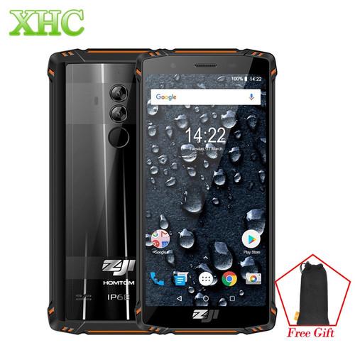 HOMTOM ZOJI Z9 Dual 4G Mobile Phones 5.7 inch Android 8.1 IP68 Waterproof 6GB+64GB Face Fingerprint Unlock OTG VoLTE Smartphones