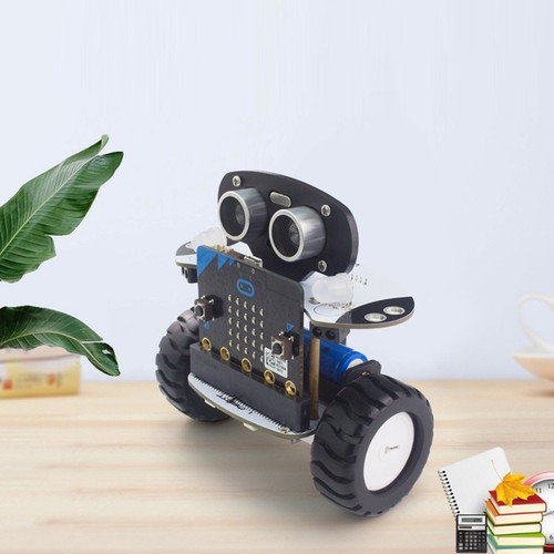 2018 Microbit Robot Kit Programmable Robot RC Car APP Control Web Graphic Program with Microbit