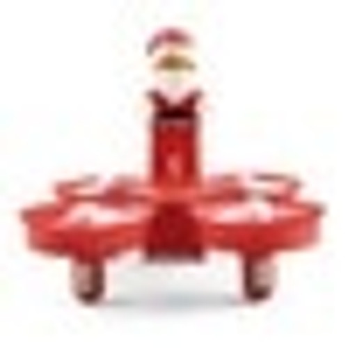 JJRC H67 Flying Santa Claus w/ Christmas Songs RC Quadcopter Drone Toy RTF for Kids Best Gift Present VS H36 Eachine E011C E010