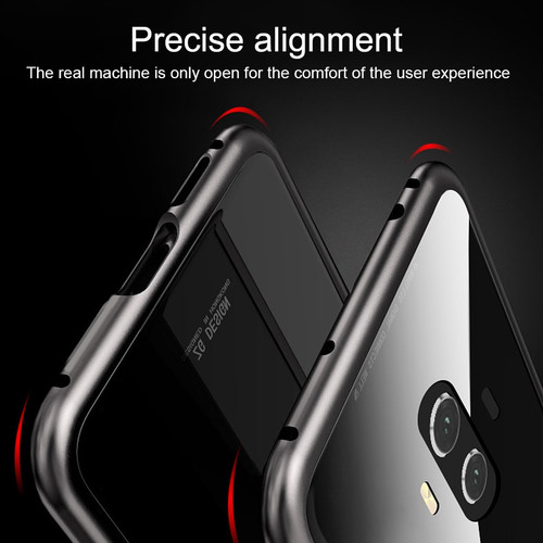 Magnetic Adsorption Case for Huawei P20 Lite Mate 10 Pro Luxury Magnet Metal Glass Back Cover for Huawei Nova 3 2s Mate 20 Lite