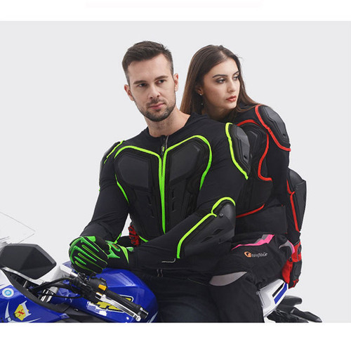 Motorcycle Armor Motocross Off-Road Racing Biker Elasticity Clothing Protective Gear Breathable Reflective Jackets Body Armor