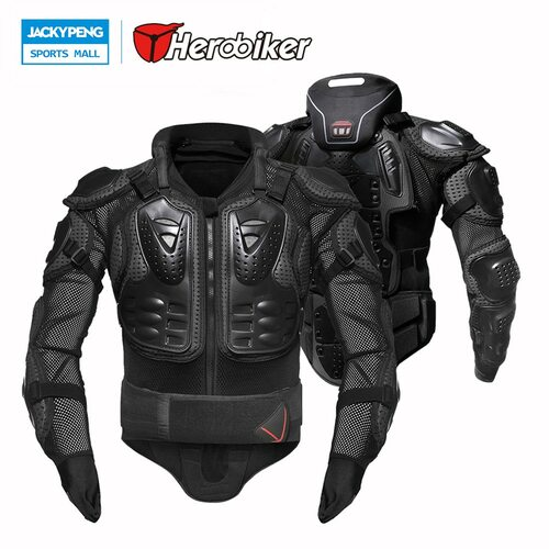 HEROBIKER Motorcycles Protection Motocross Clothing Jacket Protector Moto Cross Back Protector Neck Protector