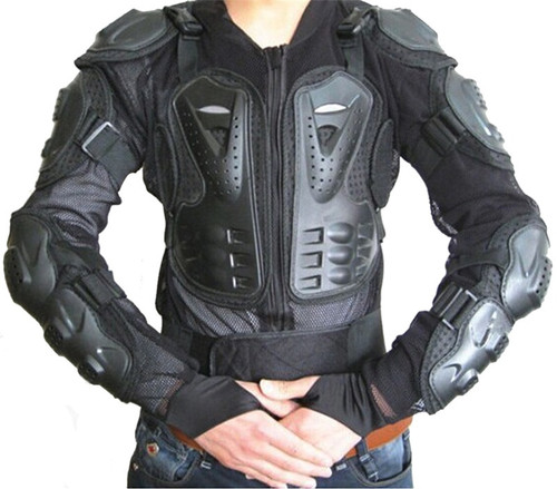 WOSAWE EVA Motorcycle Protection Motocross Body Armor Spine Chest Protective Jacket Gear Full Body Support Skiing Jackets