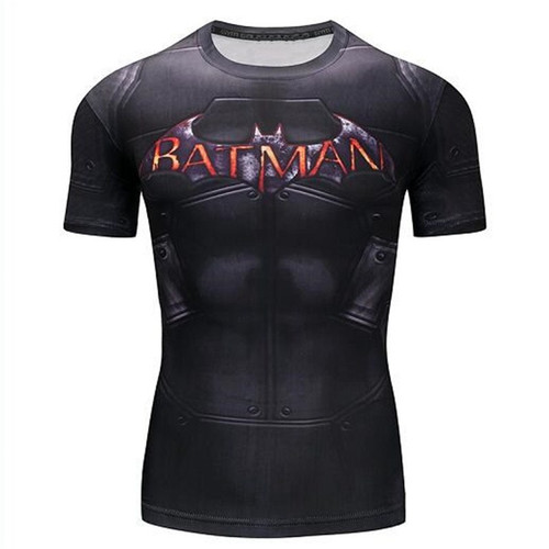 Batman VS Superman 3D Printed T-shirts Men Long Sleeve Cosplay Costume Fitness Clothing Male Tops Halloween Costumes For Men
