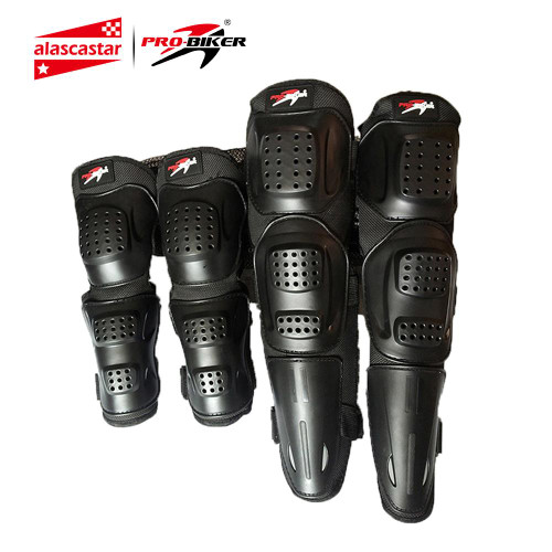 PRO-BIKER Knee Pad Motorcycle Riding Kneepad Motocross Off-Road Elbow & Knee Protective Gear Set Brace Pads Protector Guard