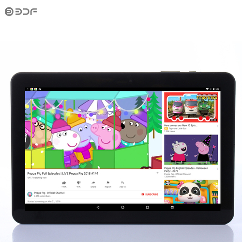 2018 New 10 Inch Android 6.0 Tablet Pc 1GB RAM 32GB ROM Quad Core 1280*800 LCD WiFi Bluetooth Support Extend TF Card Tab 10.1 7