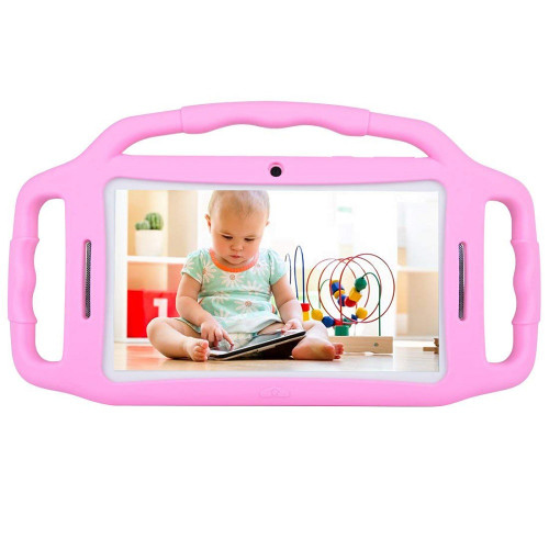 "Warehouse Shipped Tablet PC Android 7.1 Kids Tablet 7"" HD Screen 1GB/8GB Babypad Edition PC WiFi Dual Camera Play Games"