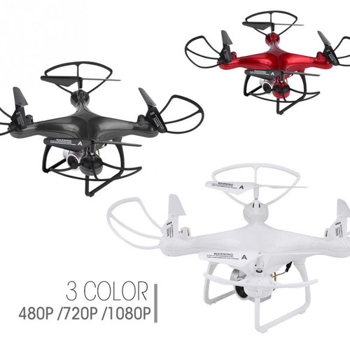 Plastic + Metal 2.4GHz RC Remote Control Quadcopter drones with camera hd 480P 720P 1080P Camera Wifi Transmission RC FPV Drone