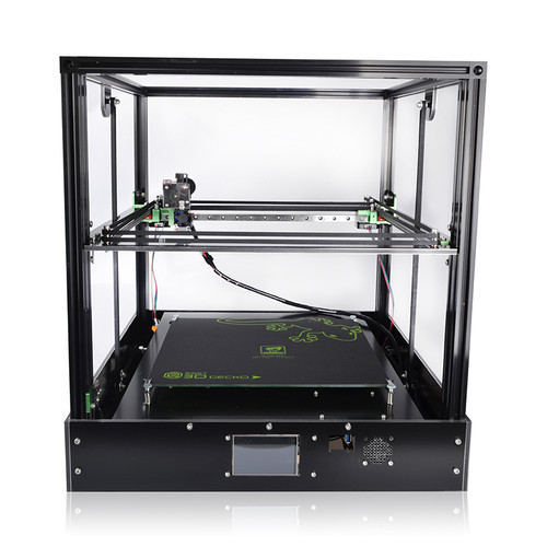 2019 3D Printer Gecko Big Screen Print Area Core XY System aluminium structure High-precision with heat bed large Titan extruder
