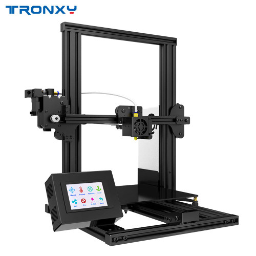 Tronxy XY-2 Fast Assembly Full metal 3D Printer 220*220*260mm High printing Magnetic Heat Paper 3.5 Inches Touch Screen