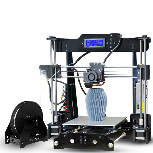 Big Sale Tronxy P802M Direct Extruder 3D Printer DIY Full Kits With 220*220mm Hotbed 1 roll PLA Filament as Gift